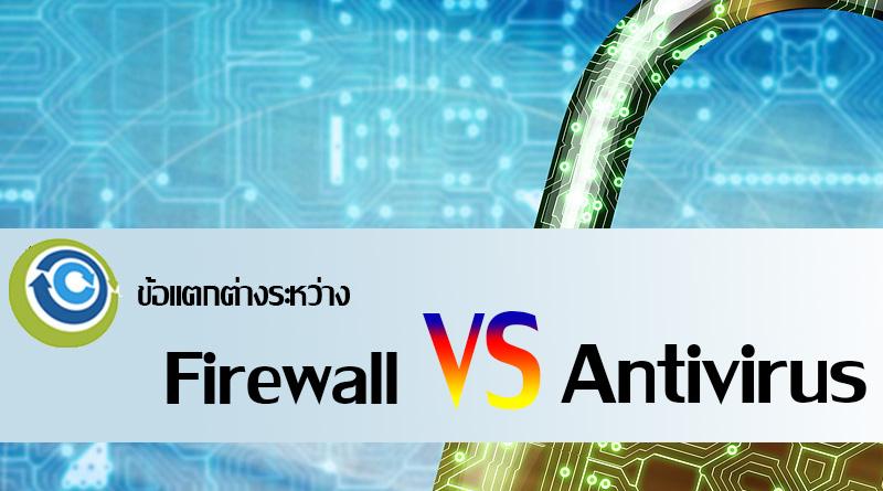 firewall กับ antivirus